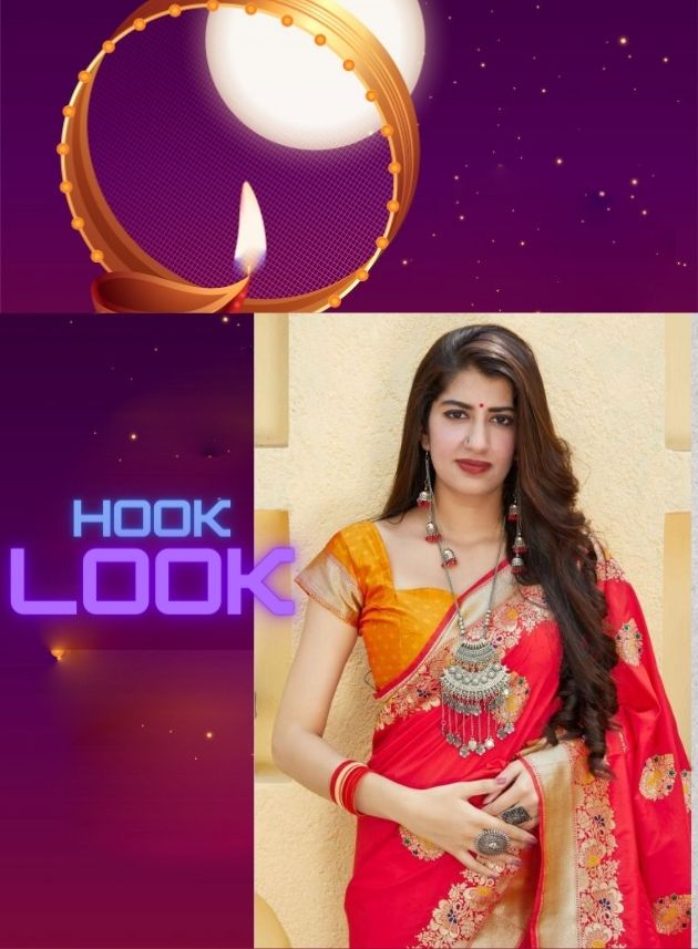 Mark Special Dresses for Karwa Chauth