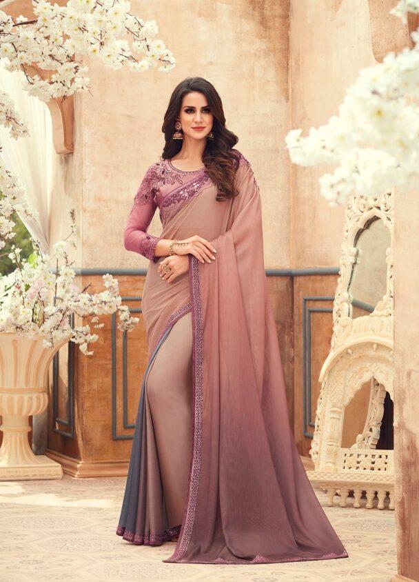 Wedding Saree Designs for Wedding Guest