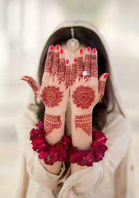 Latest Mehndi Design for Karwa Chauth