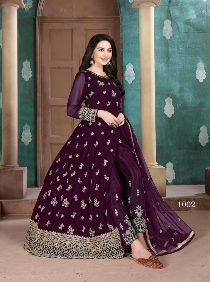 Latest Party Wear Anarkali Designer Suits