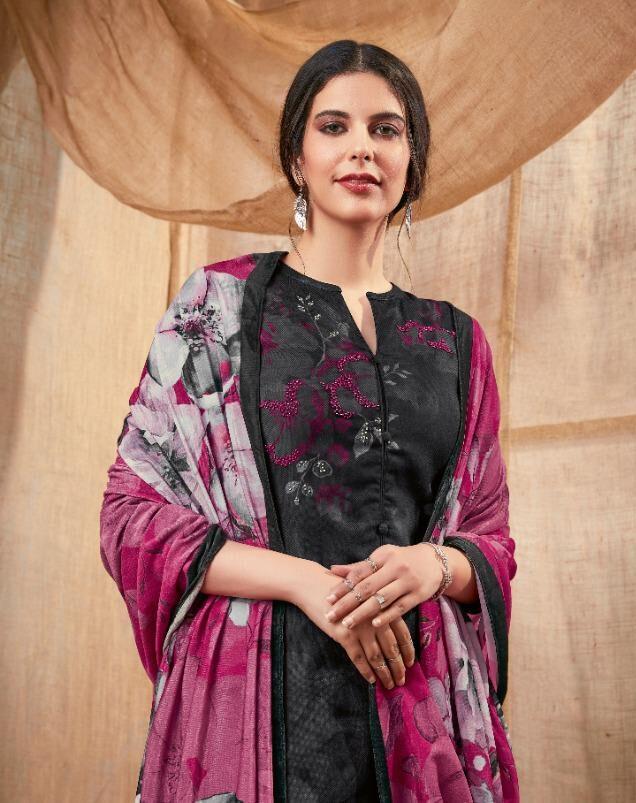 Latest Designer Pashmina Coffee Colour Punjabi Salwar Suit
