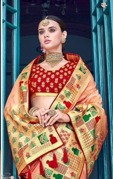 Latest Wedding Sarees Collection for Bride