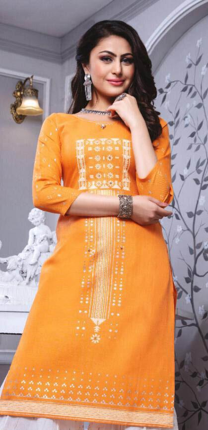 New Designer Light Orange Color Woolen Kashmiri Salwar Kameez.
