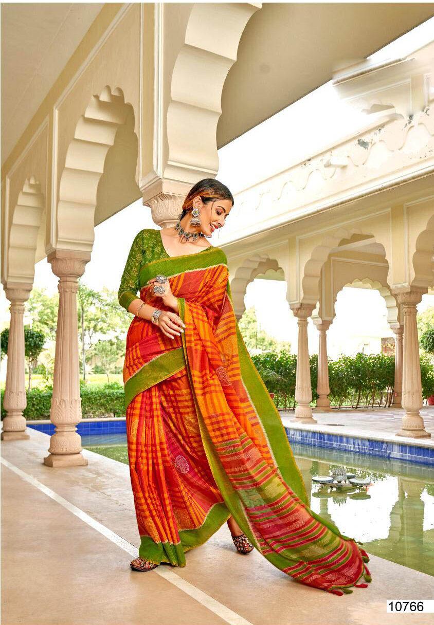 New Trend Designer Multi Color Designer Silk Saree Online Cost.