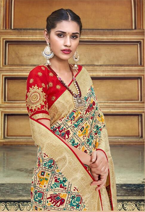 Red Designer Blouse for Wedding Saree