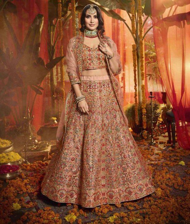 Stylish Latest Bridal Lehenga Designs 2020 with Price