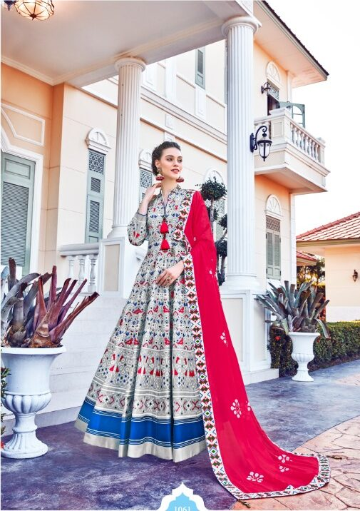 Best Embroidered White Color Lehenga For Party Wear Bride