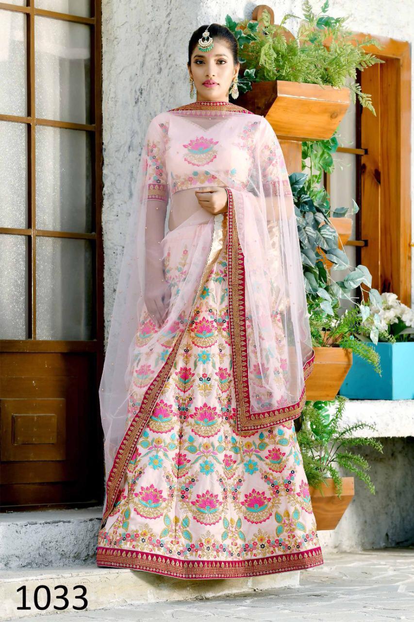 Best Trend Designer White Color Lehenga For Ceremony Bride.