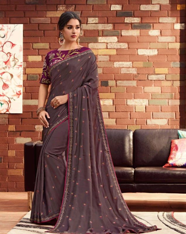 Latest Designer Sarees for Girls for Office Wear