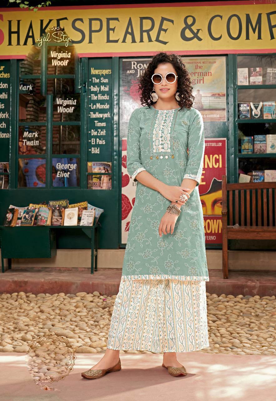 New Best Trend Designer Grey Color Sahara Suit Online Cost