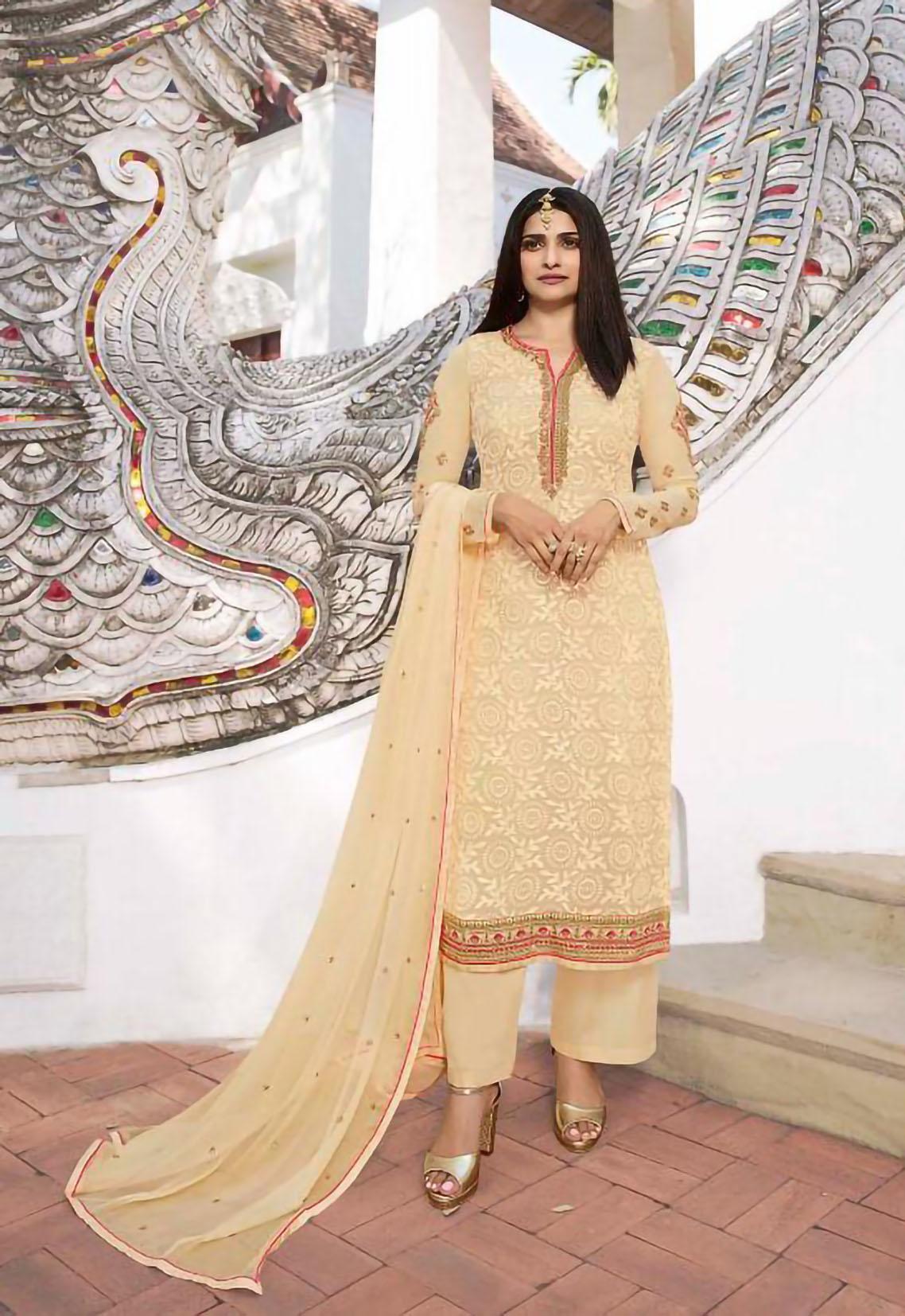 Lemonade Designer Heavy Embroidery Salwar Suits for Wedding