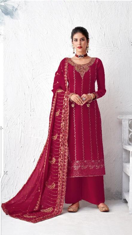 New Pink Color Salwar Suit Online Shopping