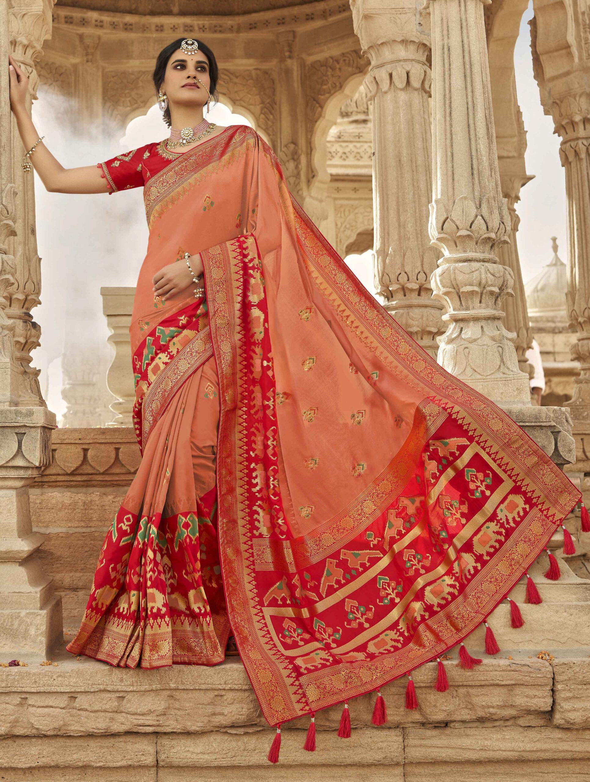 Latest Blouse Designs for Silk Saree