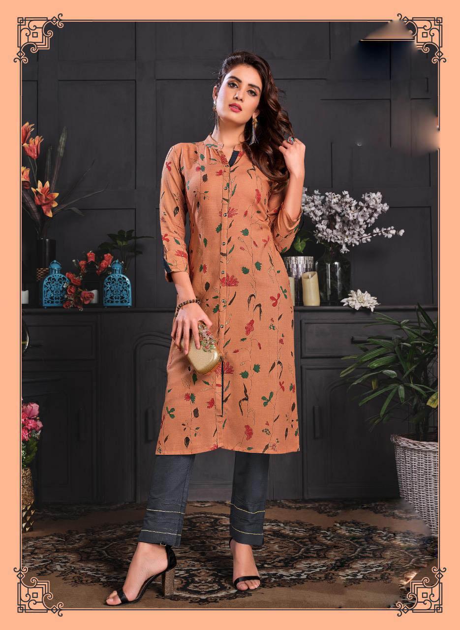 Best Light Orange Color Designer Salwar Pant Palazzo.