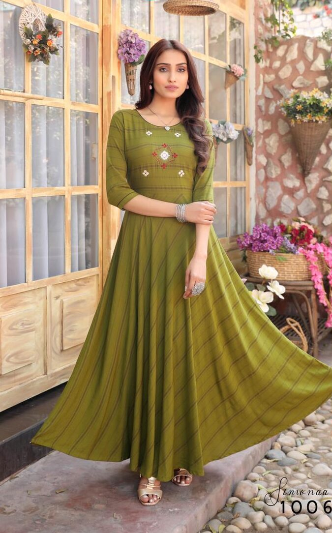 Best Readymade Anarkali Long Kurti For Girls At a Price.