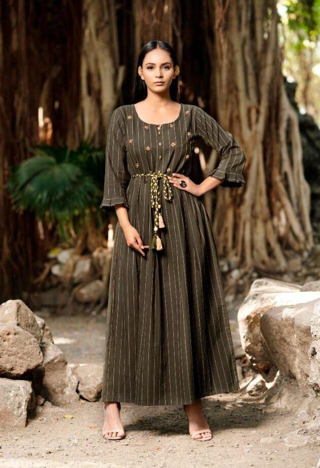 Best Trend Designer Black Color Frock Suit Online With A Price.