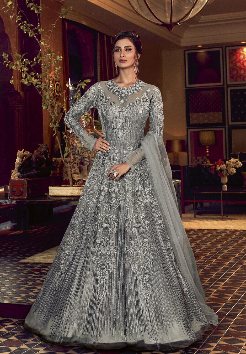 New Designer Wedding Dresses for Girls   Indian wedding gowns