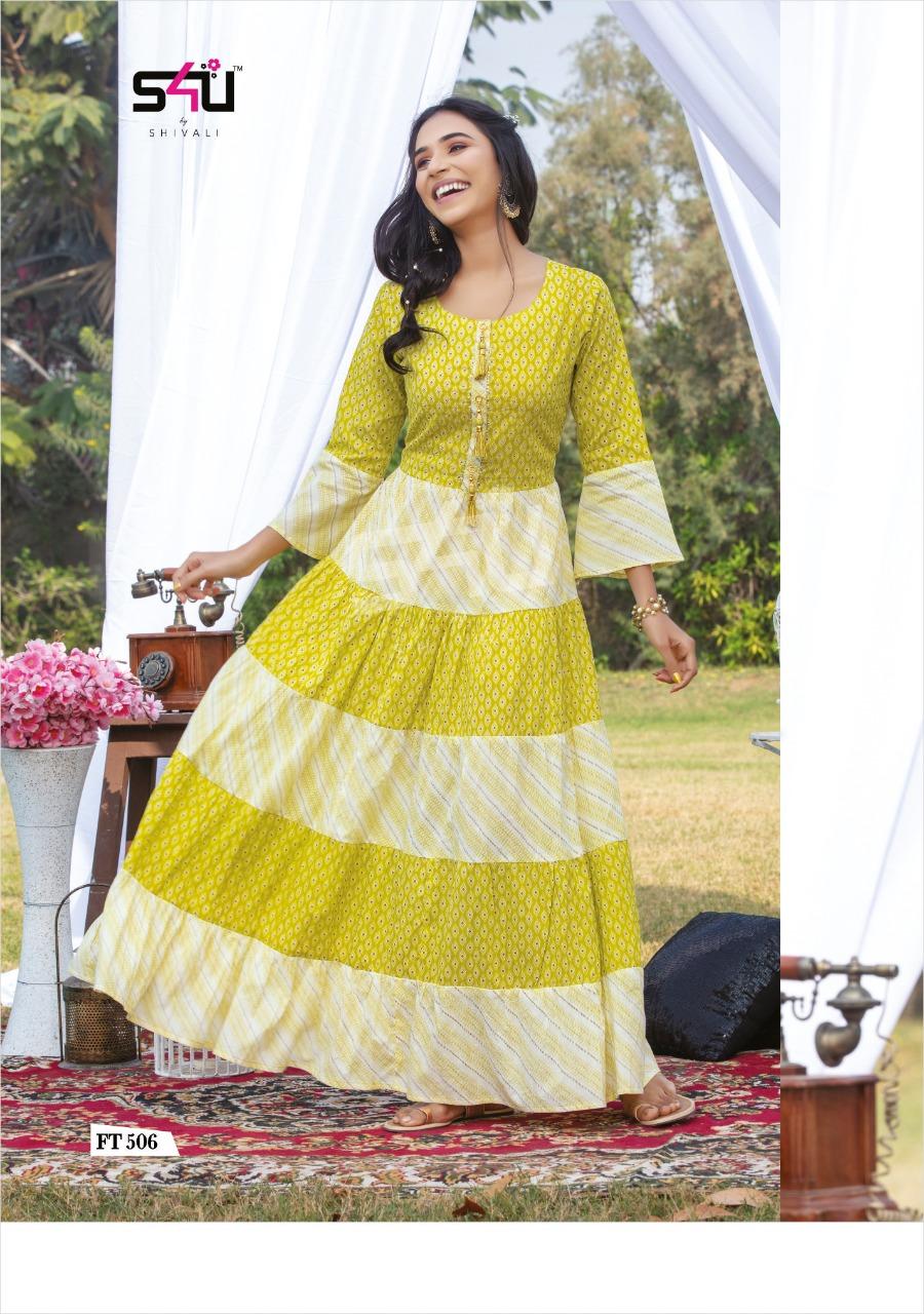 Ready-made Floor Length Anarkali Suit