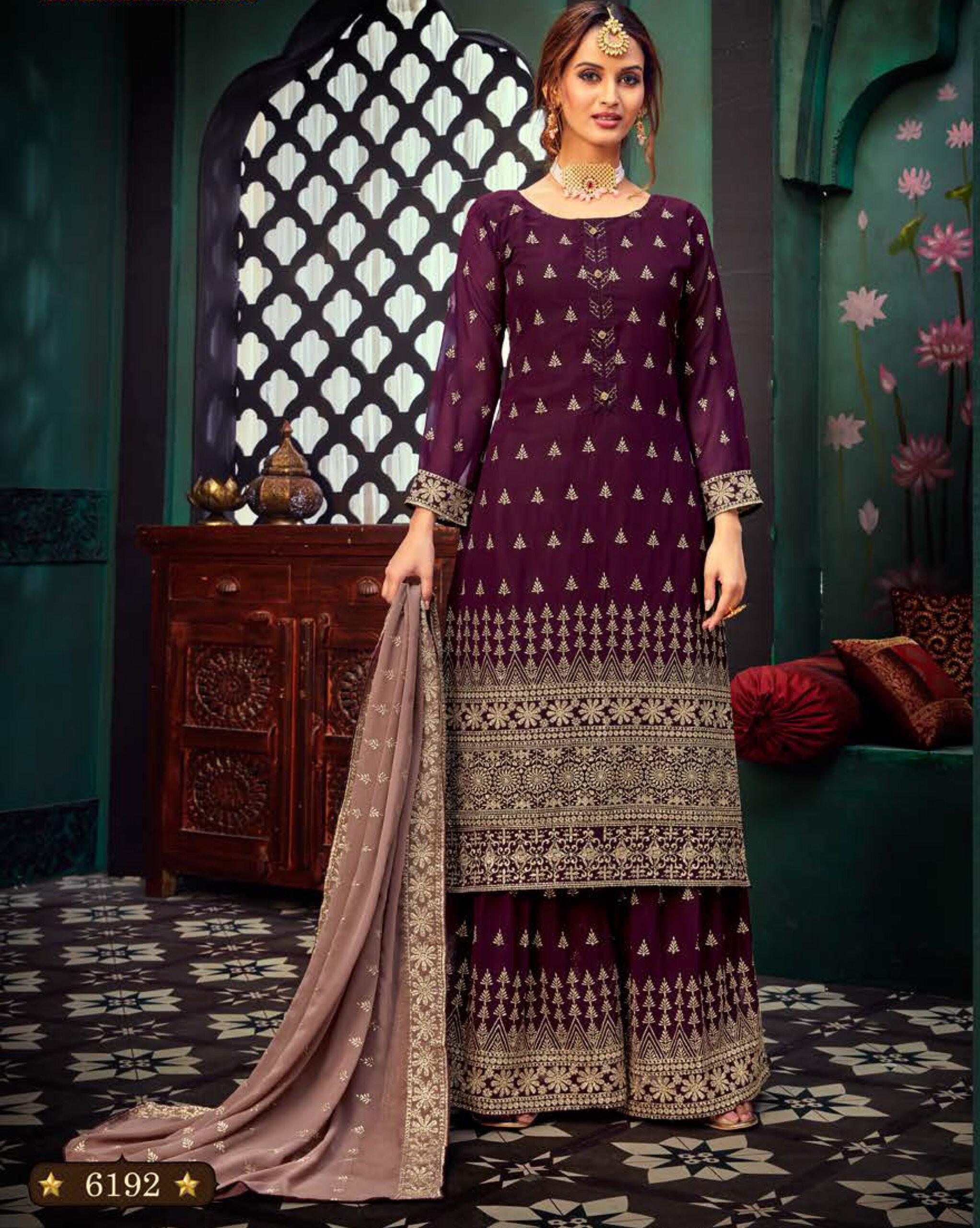 Wedding Sharara Gharara Fancy Suit