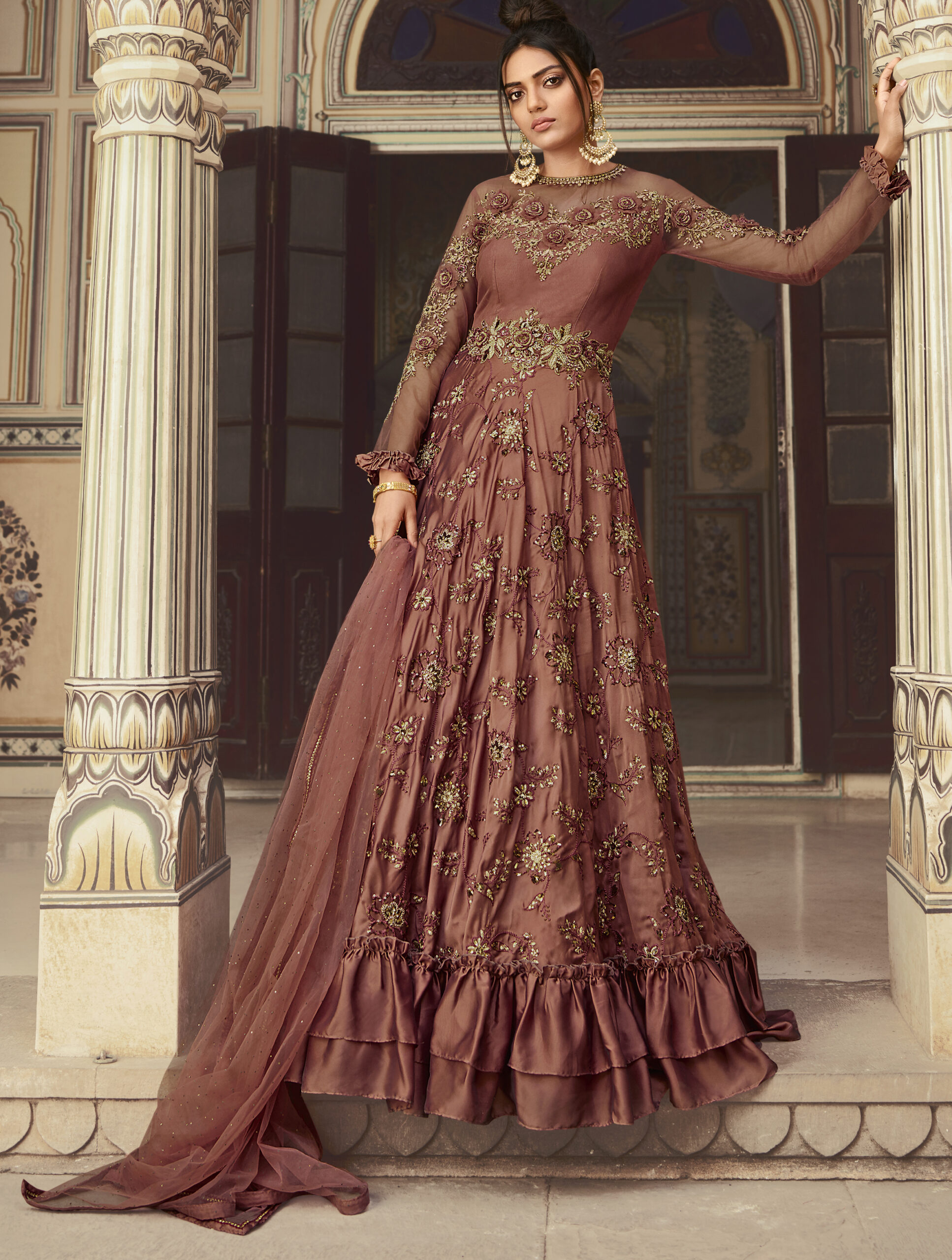 Latest Party Wear Gown Design 2021