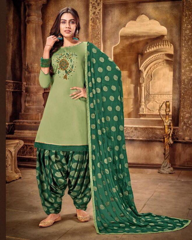 Punjabi Patiala Suit Latest Design 2021