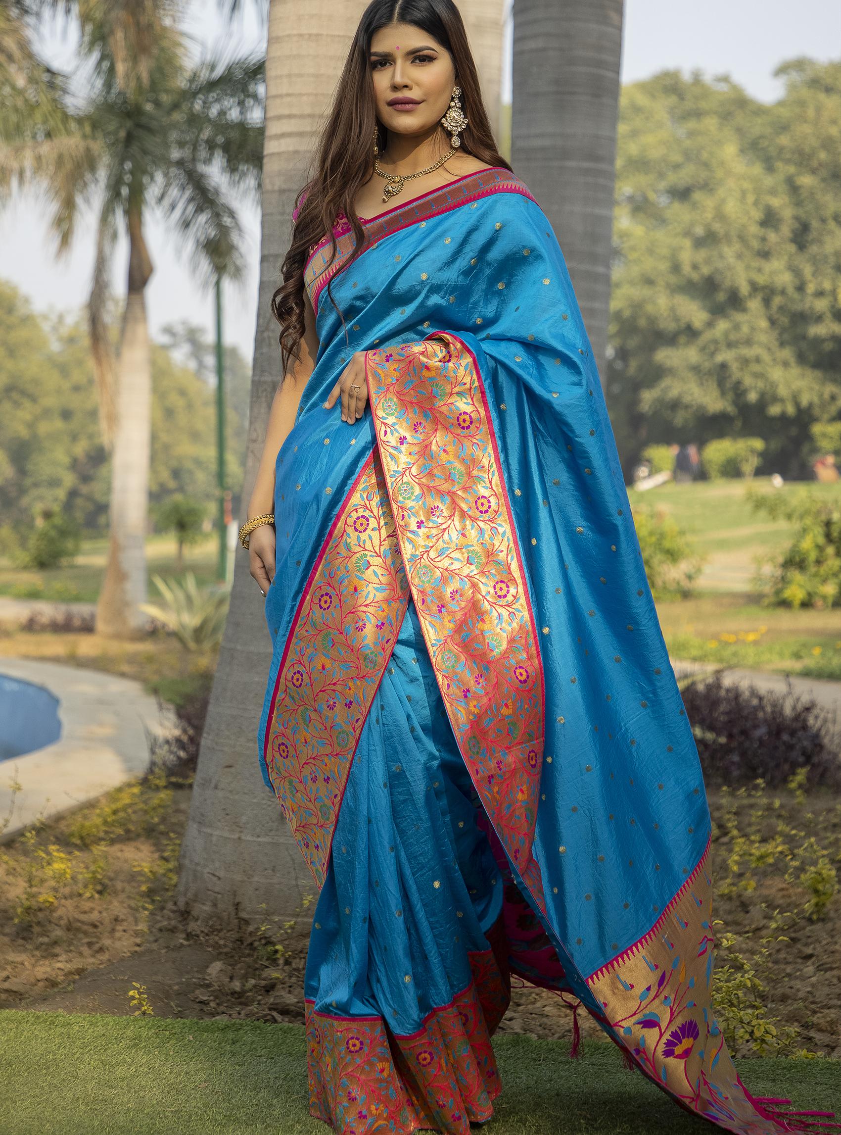 Designer Silk Sarees in Bangalore