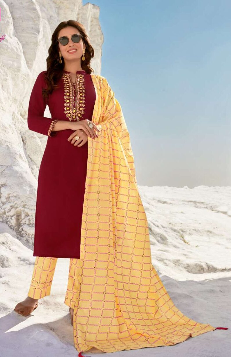 Fully Stitched Salwar Suits with Dupatta