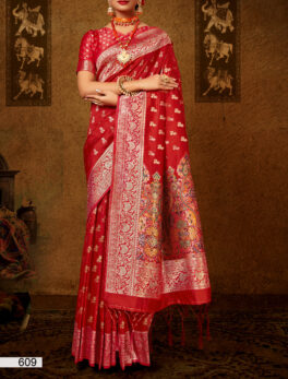 Red Wedding Saree for Bride