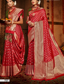 Silk Saree Simple Blouse Designs