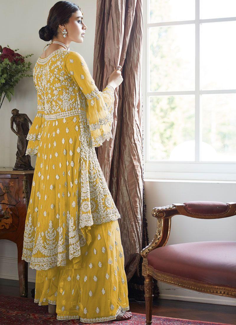 Haldi Ceremony Best Party Wear Dresses for Teenage Girl