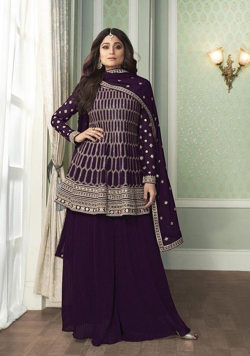 Shamita Shetty Style New Design for Salwar Suits