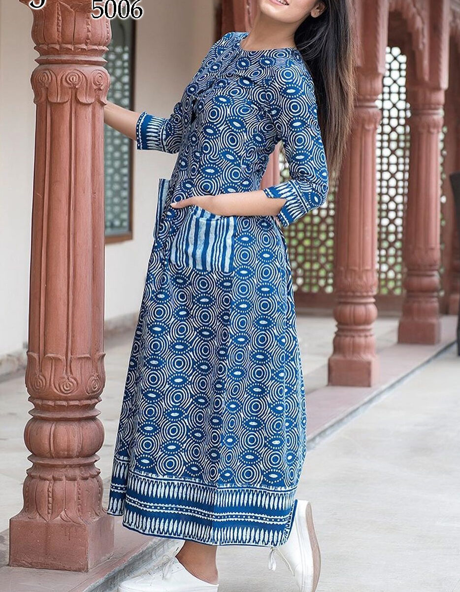 Fancy Kurti for Ladies with Pocket