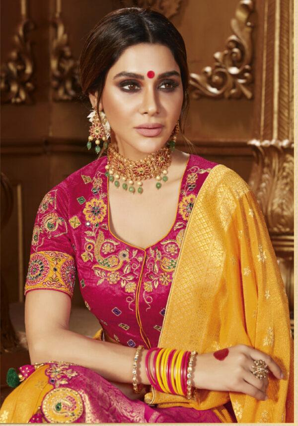 Latest Designer Bridal Silk Saree Online