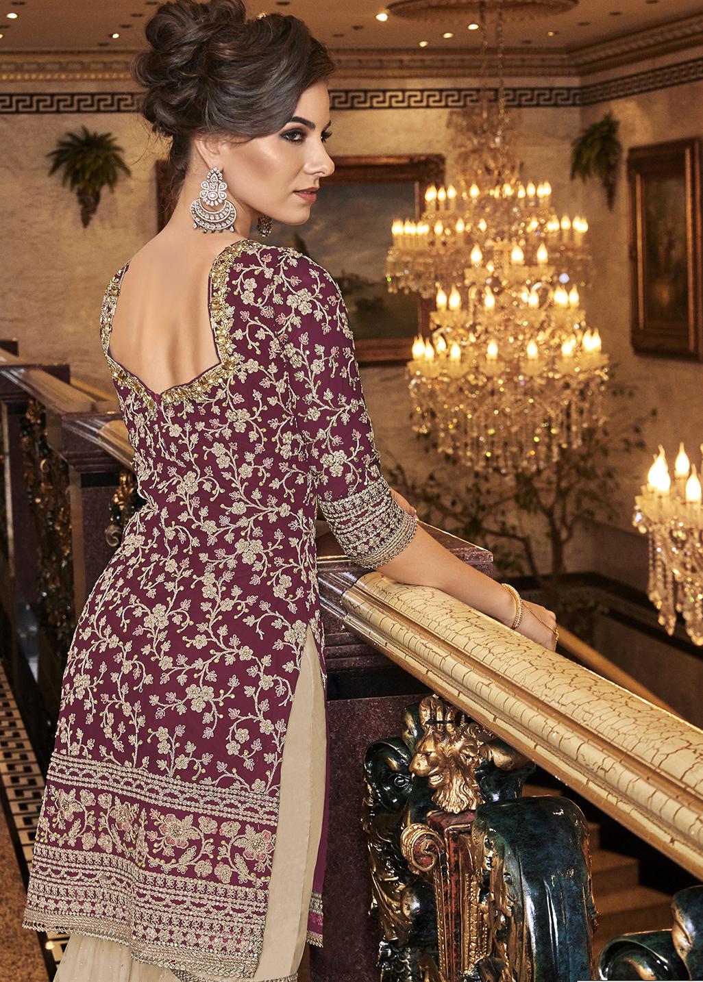 Gharara Sharara Kurti Designs