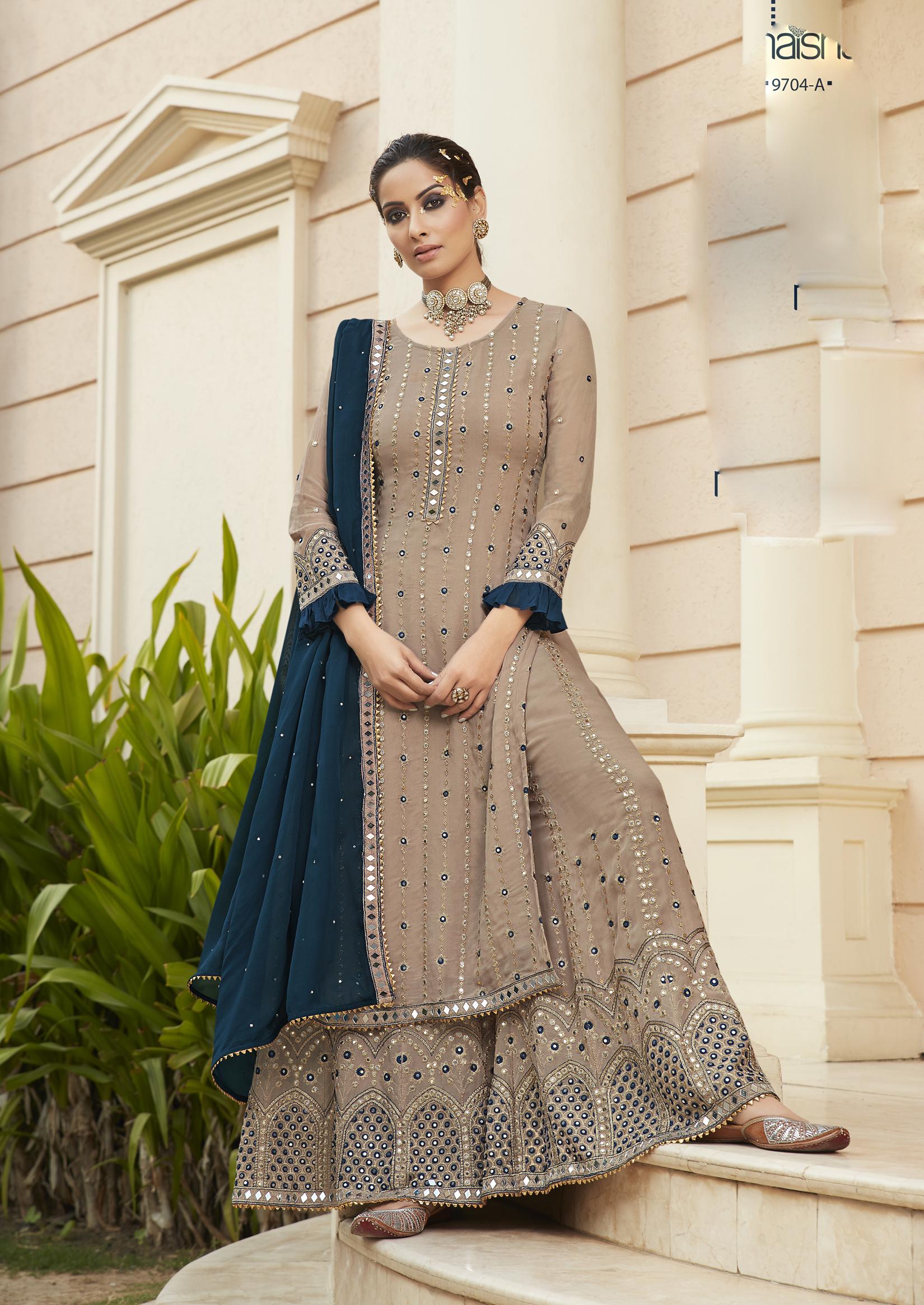 Latest Designer Punjabi Suits Pics