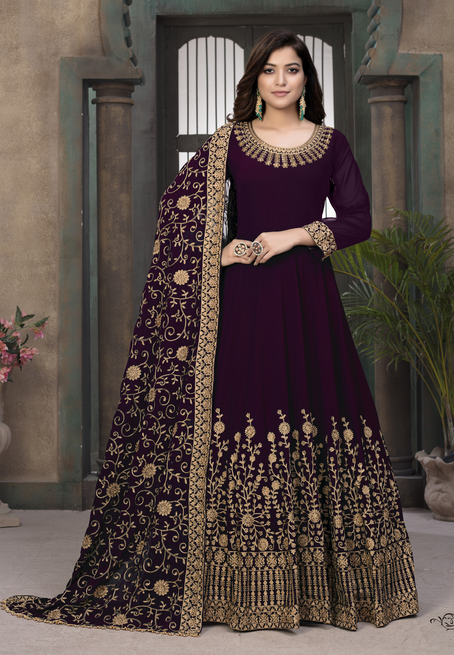 Latest Gown for Women Party Wear