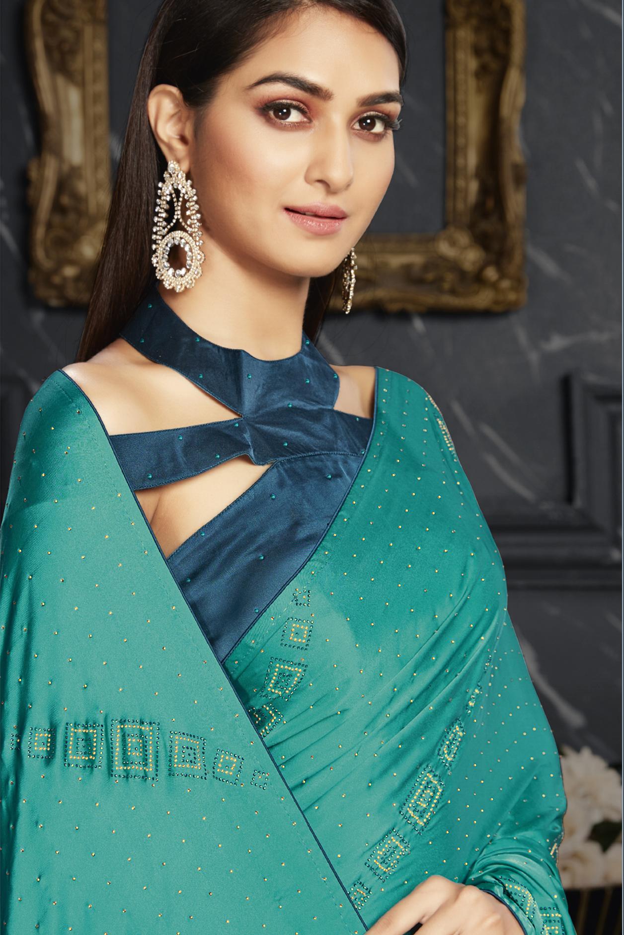 Party Wear Designer Saree Online