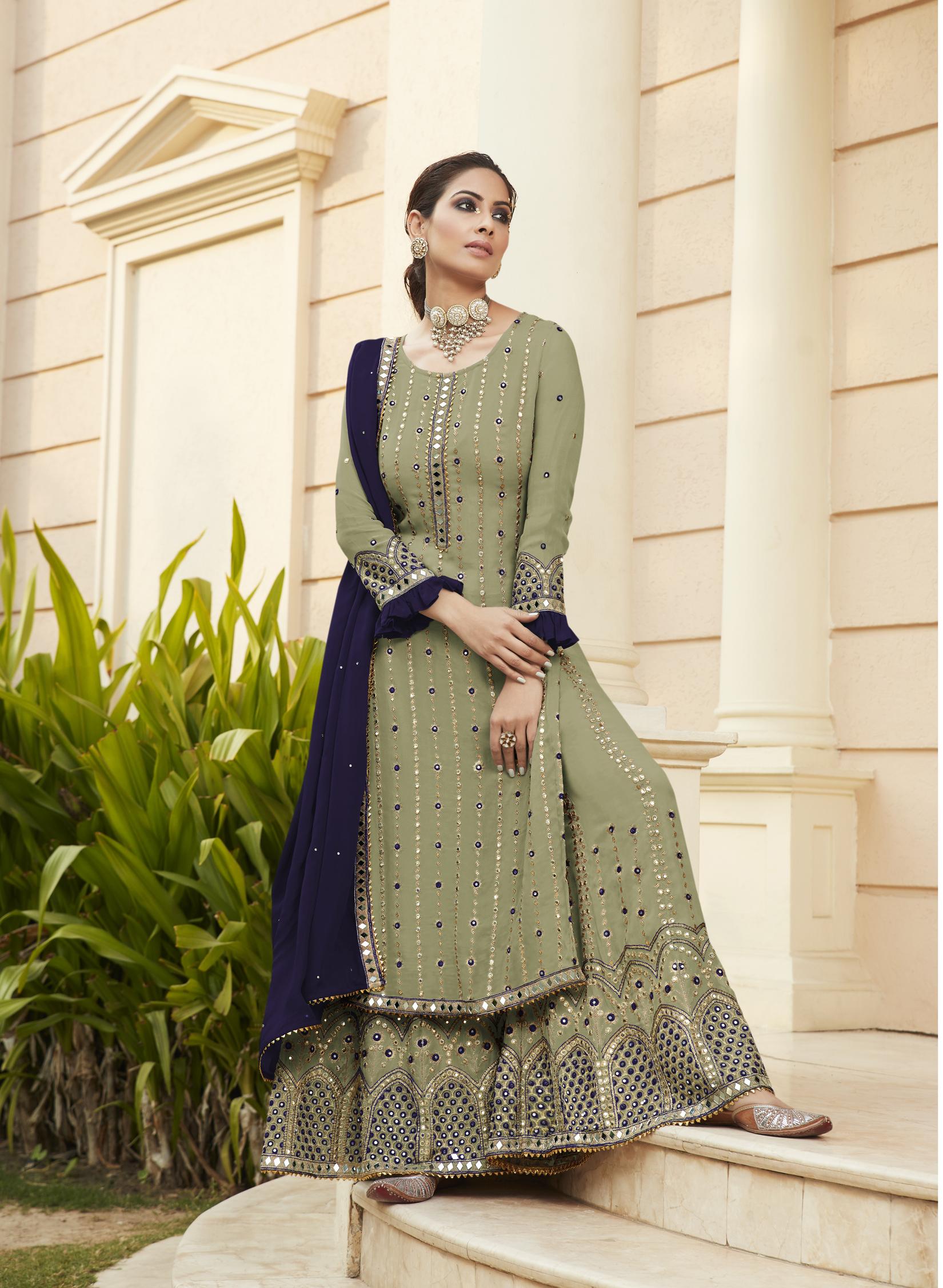 Party Wear Heavy Punjabi Wedding Suits Boutique