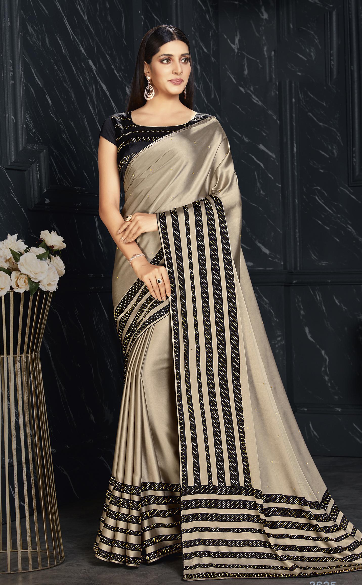 Party Wear Simple Designer Saree Online
