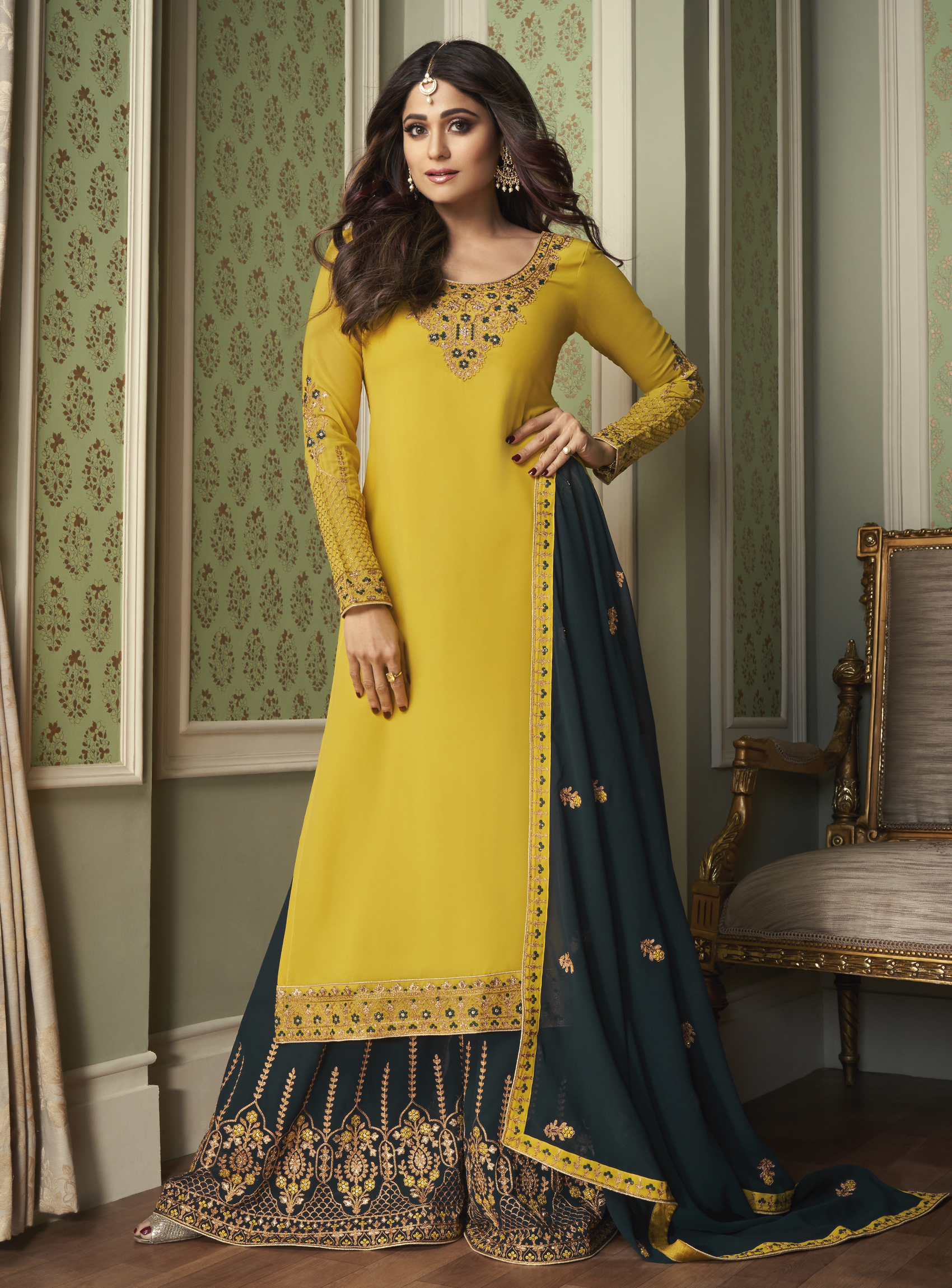 Yellow Salwar Suits for Haldi