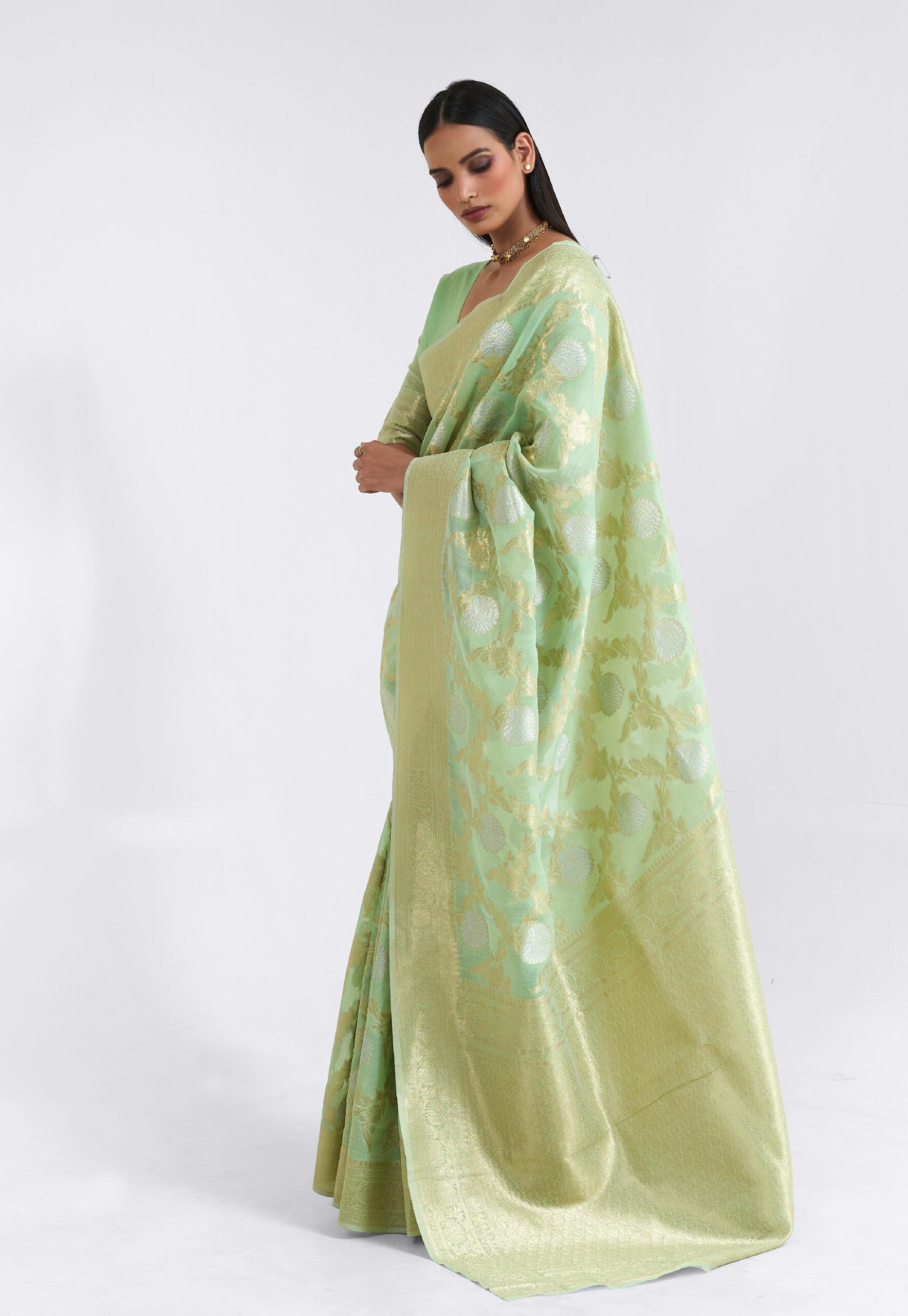 Designer Silk Saree Party Wear with Price