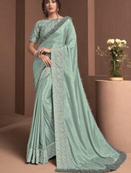 plain pure chiffon sarees with designer blouse