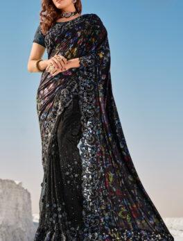 Digital Print Latest Wedding Saree with Price