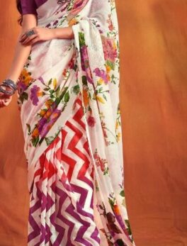 Latest Casual fancy printed saree